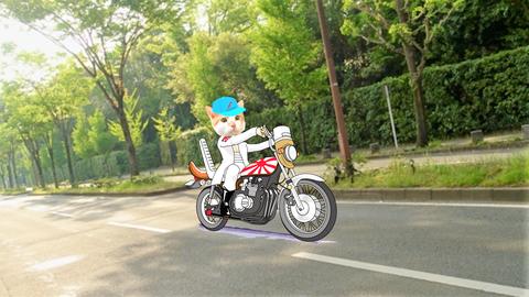 バイク タマスケ広報課長