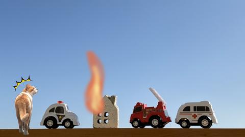 消防法違反の建物で火災