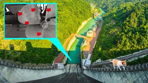 水力発電でお馴染み「キャビテーション」