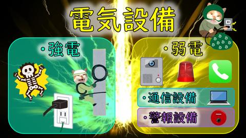 「電気設備」における警報設備の存在感