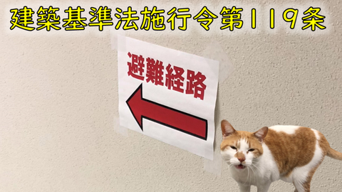 建築基準法上の用途で廊下幅規定