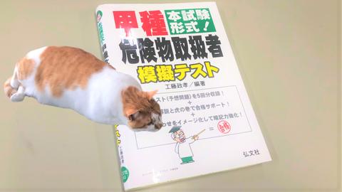 模擬テスト本 危険物甲種