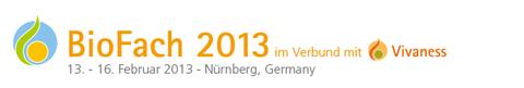 BioFach 2013 im Verbund mit Vivaness