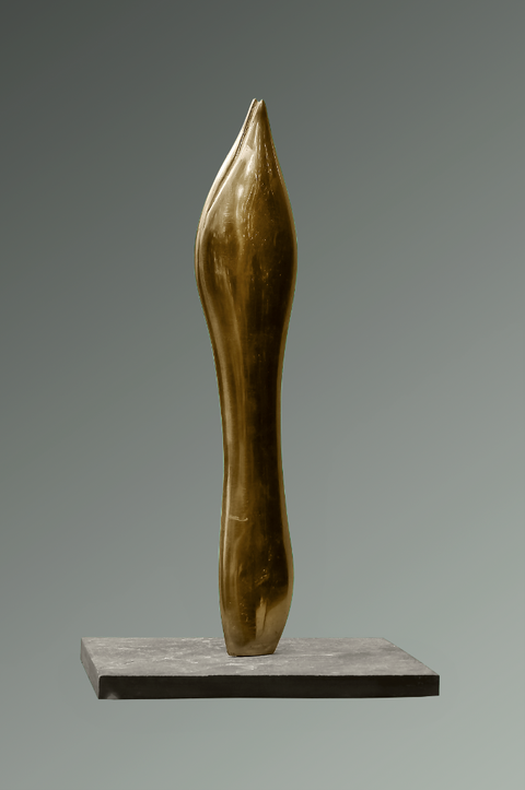 Dämmerungen / Bronzefassung Exemplar 2/3 / 36 cm / Foto Jean Molitor
