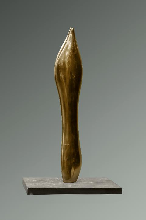 Dämmerungen / Bronzefassung / Exemplar 2/3 / 36 cm / Foto Jean Molitor