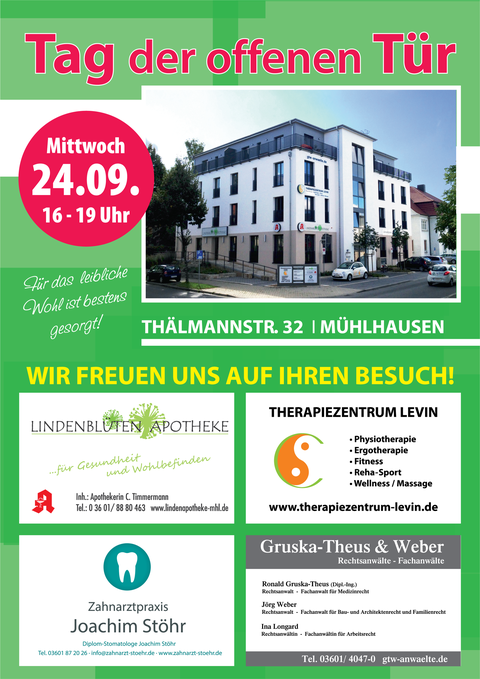 Tag der offenen Tür 2014 Zahnarztpraxis Joachim Stöhr Mühlhausen