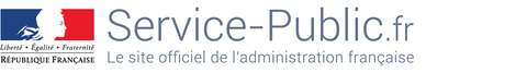 Site page ERASMUS + du Service Public