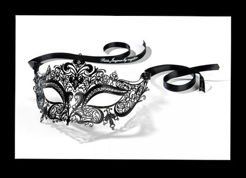 "erotische venezianische Maske ""La Reine"" bei bangat"