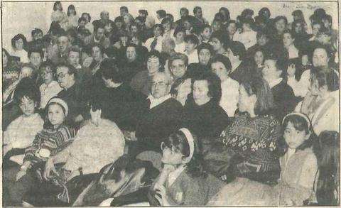 El público llenó todos los días el salón de actos. (Foto: Leal)