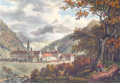 Klosteransicht 19. Jahrhundert