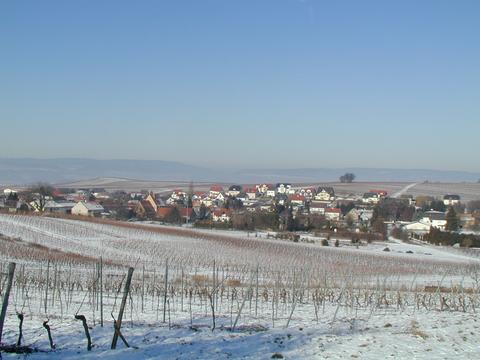 Horrweiler im Winter - Der Februar 2012 war bitterkalt. Nach 15 km Dauerlauf wurde unser Wellnessbereich herbeigesehnt.
