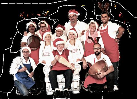 Das Bonbon-Pingel Team wünscht allen Kunden ein Frohes Weihnachtsfest und ein Glückliches Neues Jahr 2019 Foto: © 2018 Evelyn Sander / Induce UG