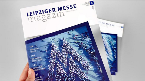 Leipziger Messe Magazin Cover