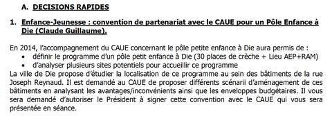 Extrait de la convocation du Bureau de la CCD du 12 mars b2015