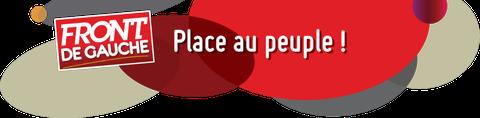 le site qui marque la campagne du Front de Gauche