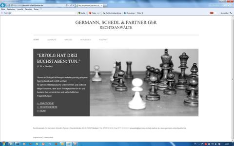 Rechtsanwaltskanzlei Germann, Schedl & Partner, Stuttgart