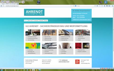 AHRENDT Sachverständiger Bau + Wertermittlung | Stuttgart