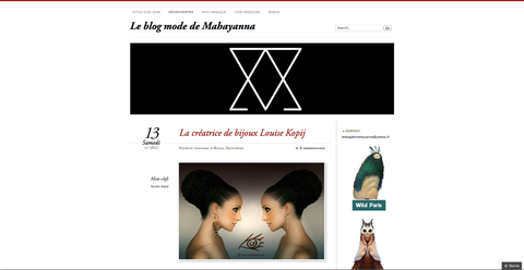 le blog mode de mahayanna