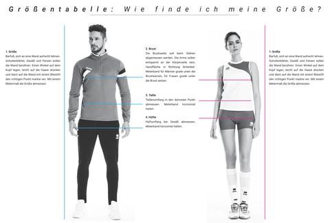 Erreà Größentabelle - www.teamausrüster.de