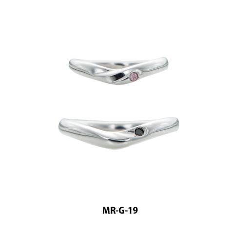 マリッジリング ブライダルリング プラチナ K18金 K18PG