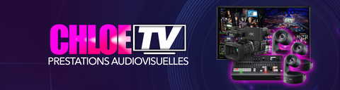Chloé tv streaming studio création direct captation production audiovisuelle tarbes pau lourdes bayonne Biarritz auch dax gers hautes Pyrenees atlantiques 65 64 32 33 40 31