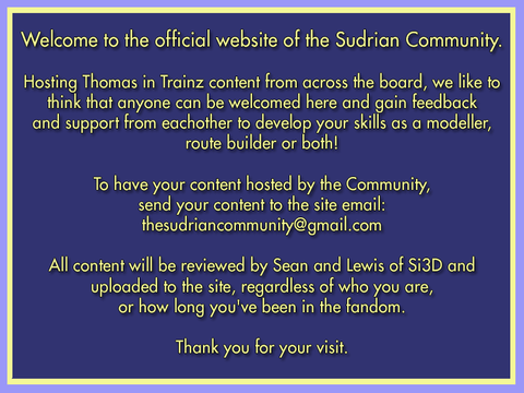 Discontinuation of The Sudrian Community: - Website of The Sudrian
