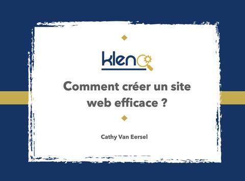 Créer un site web efficace
