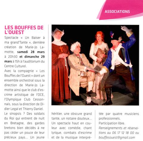 Article Presse CIM n°785 du 15 mars 2015