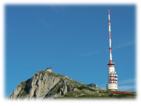 Dobratsch, Villacher Alpe, Kirche, Sendeturm, Villacher Alpenstraße, Wandern, Wanderwege, webcam