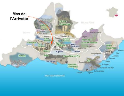 carte Provence