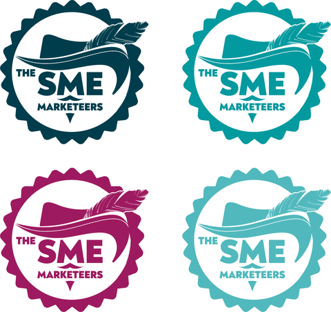One colour versiona of the SME Marketeers logo