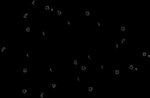 Grundstruktur (Main Structure) der Amatoxine / Amanitine.