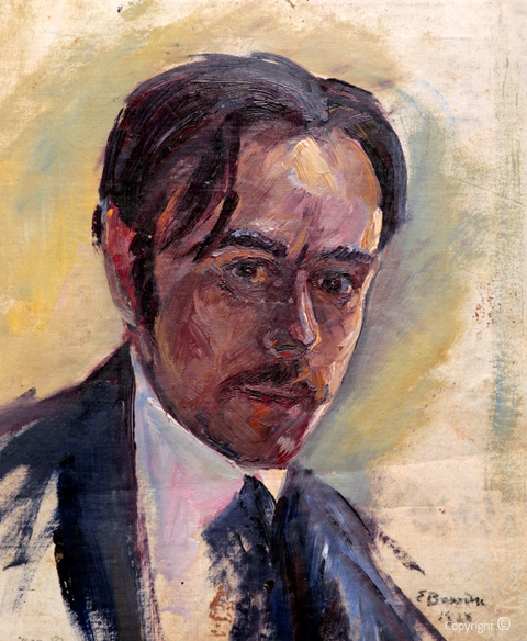 Werkverzeichnis N° 31 – Selbstbildnis, 1928