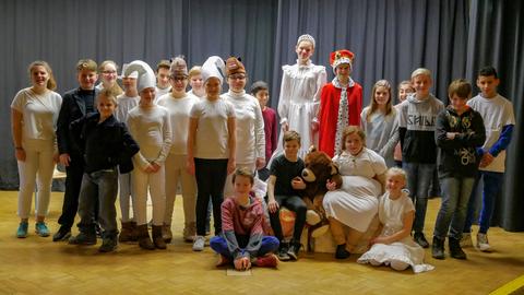 """Die Musicalklasse 5b erweckte das Musical """"Schach 2.0"""" zum Leben"""