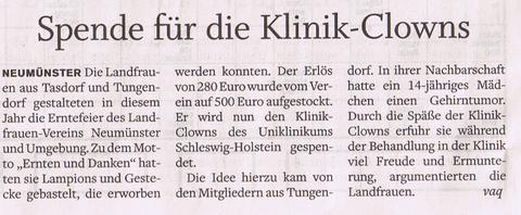 Holsteinischer Courier, 08.11.2014