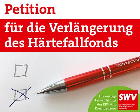 Petition für die Verlängerung des Härtefallfonds