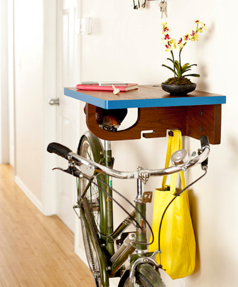 Bike rack by Board by Design.