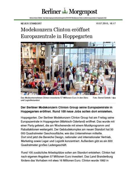 "Artikel von ""Berliner Morgenpost"""