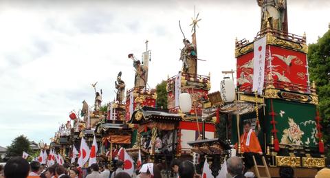 本庄祭りの山車