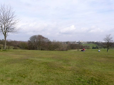 Cofton Park, looking towards the City Centre. Photograph by Roger A Smith on Geograph SP0076 reusable under Creative Commons licence Attribution-ShareAlike 2.0 Generic (CC BY-SA 2.0).