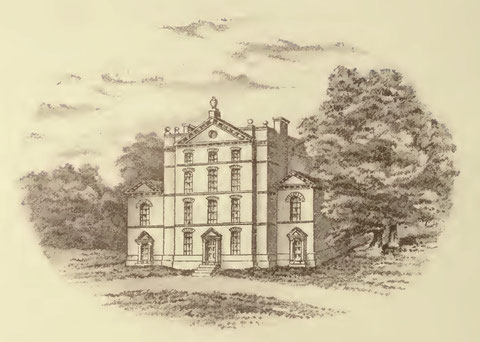 Bennetts Hill. Image from Catherine Hutton Beale 1891 'Reminiscences of a Gentlewoman of the Last Century: Letters of Catherine Hutton', a work now out of copyright.