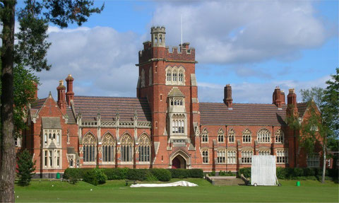 Spring Hill College, now Moseley School. Image by Oosoom downloaded from Wikipedia. Permission is granted by the copyright holder to copy, distribute and/or modify under the GNU Free Documentation License.