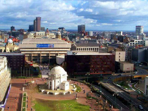 Centenary Square in 2004 - much has changed since then - typical Birmingham!