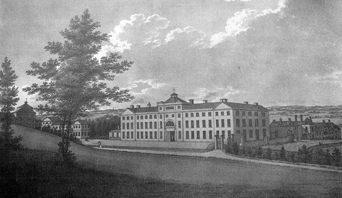The Soho Manufactory from Stebbing Shaw 1801 The History & Antiquities of Staffordshire, a work now in the public domain