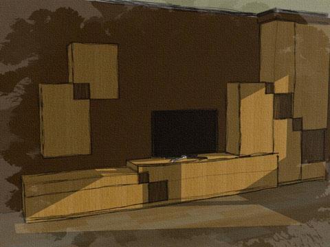muebles salon asturias