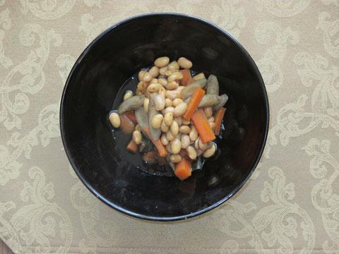 五 目 煮 豆