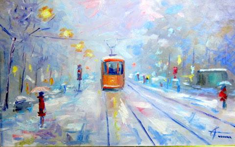 Tram  Corso Sempione Milano