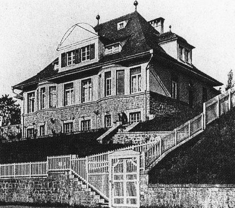 Villa Wirsing, die heute das Arbeitsgericht Schweinfurt beherbergt (Foto: Stadtarchiv Schweinfurt)