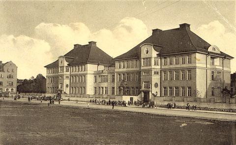 Die Ludwigschule nach der Fertigstellung - Danke an Andres Hedler