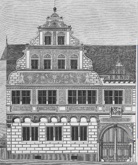 Das Roth`sche Haus nach seiner Renovierung ca. 1890